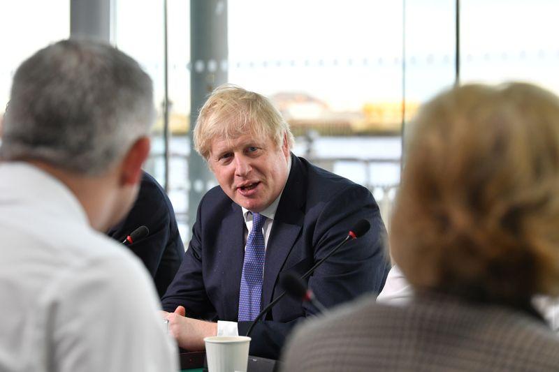 UKs Johnson plans full border checks on EU goods - Telegraph