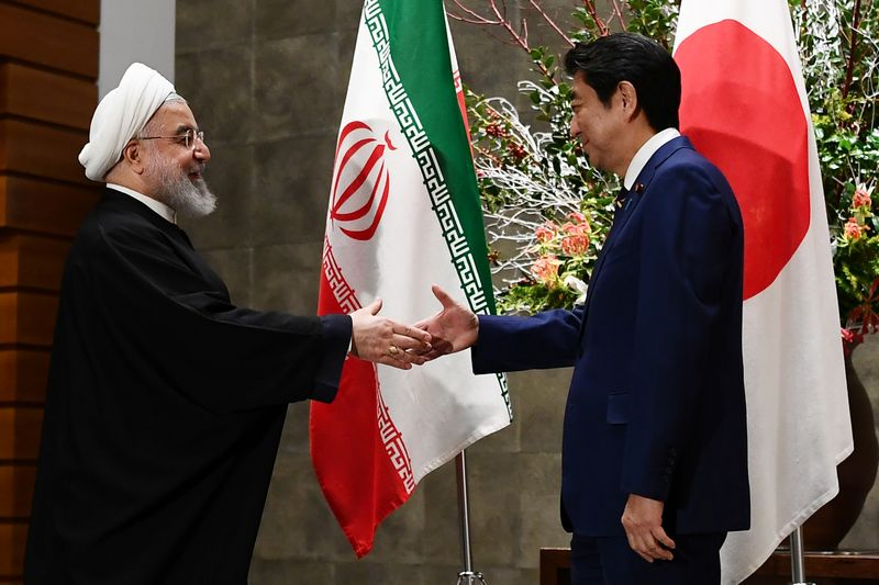 Irans Rouhani welcomes Japan opt-out of U.S.-led naval mission in Gulf