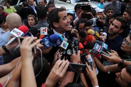 Venezuela investigates Guaido over photo with suspected Colombian criminals
