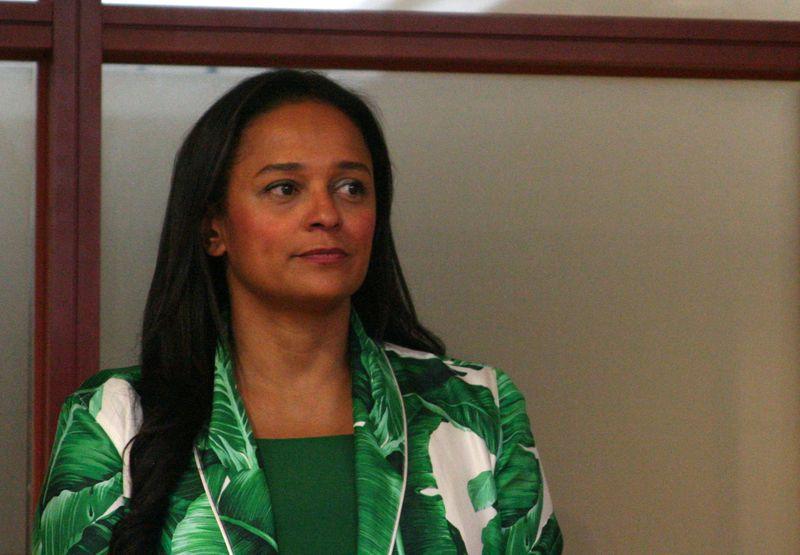 Angola hits Princess dos Santos with asset freeze