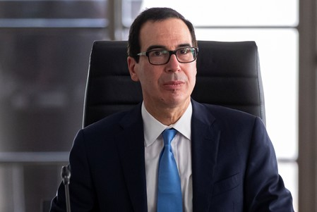 Treasurys Mnuchin says Amazon destroyed U.S. retail sector