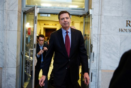 DOJ declines to prosecute Comey despite finding that he leaked info