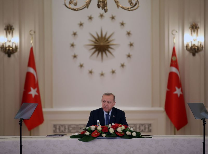 Erdogan advises Turks to stay home, acts to boost economy against coronavirus