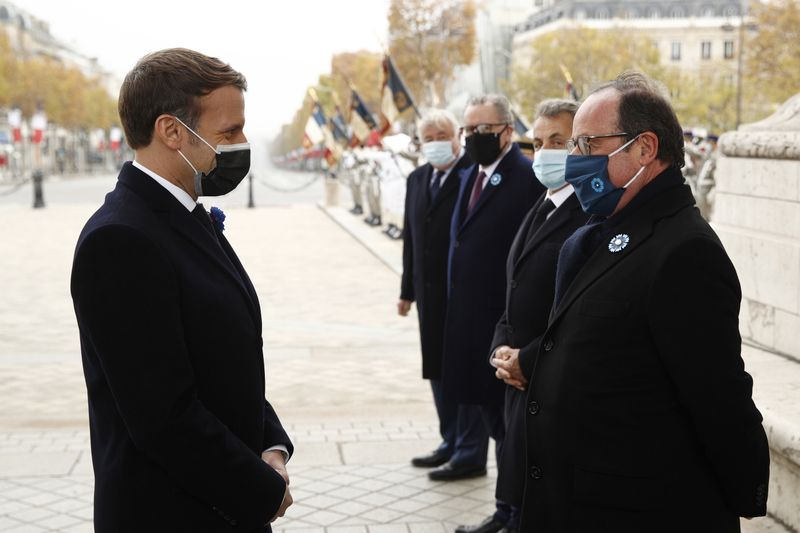 Ex French President Hollande asks Macron: How are you doing? Is it not too hard right now?