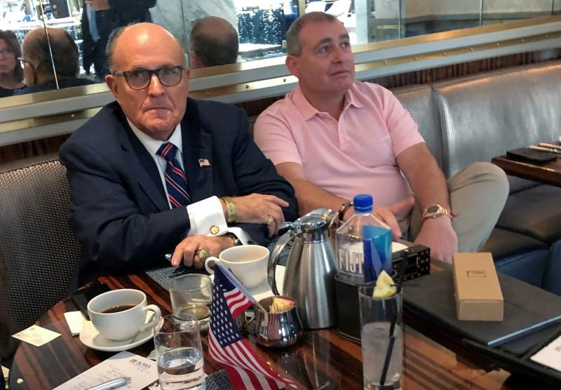 Exclusive: Giuliani told U.S. his client deserves leniency for financing Venezuelas opposition - Parnas