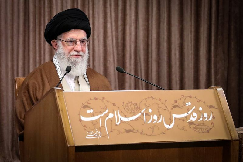 Iran lauds arms supply to Palestinians against tumor Israel