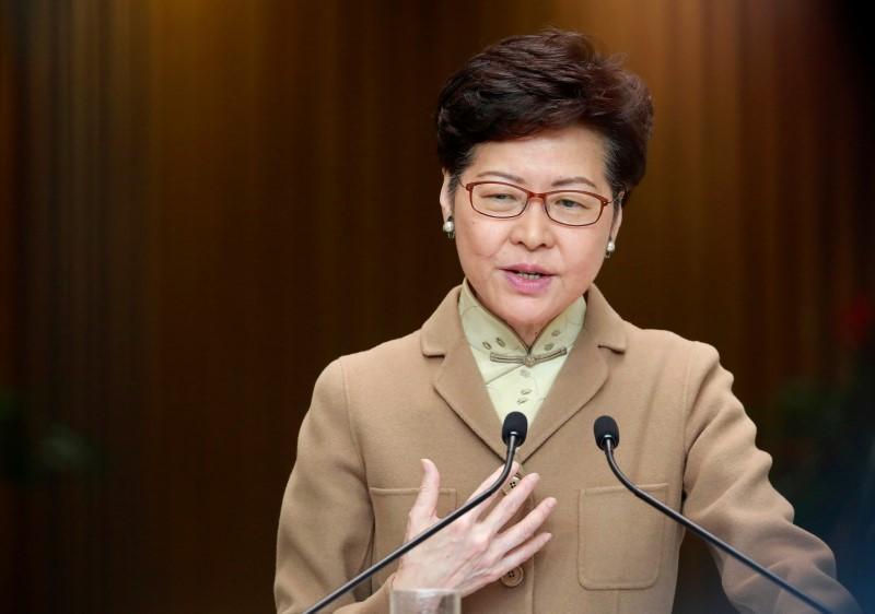 Hong Kong leader says financial hubs strengths intact despite protests