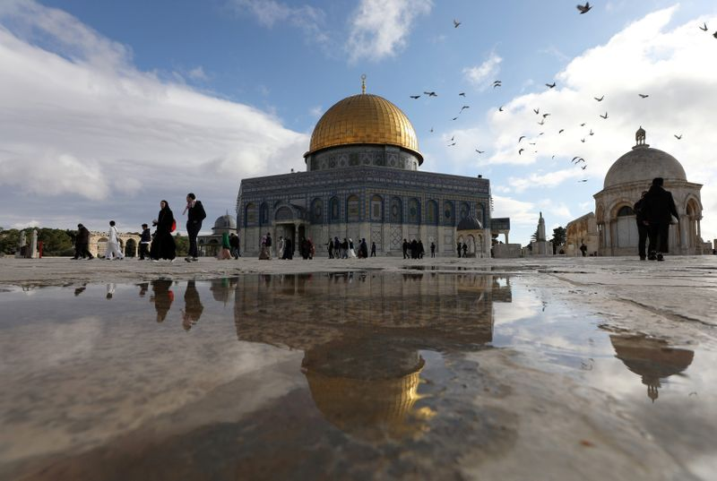 U.S. sees no imposed change to status quo around Al-Aqsa mosque