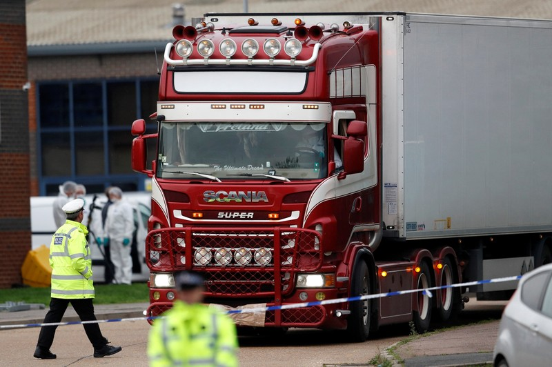 Police hunt for brothers from Northern Ireland over truck deaths