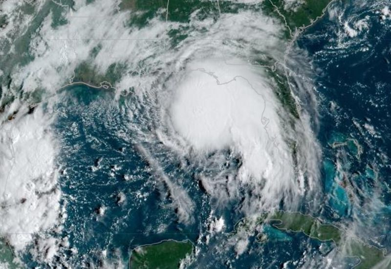 Sally intensifies, could wallop U.S. coast with 110-mph winds
