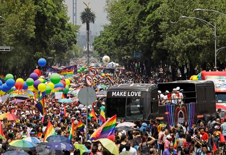 Here, I feel free: Mexico City celebrates role as haven for LGBTQ migrants