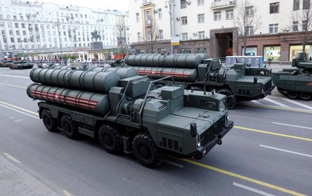 First parts of Russian S-400 system delivered to Turkey: ministry