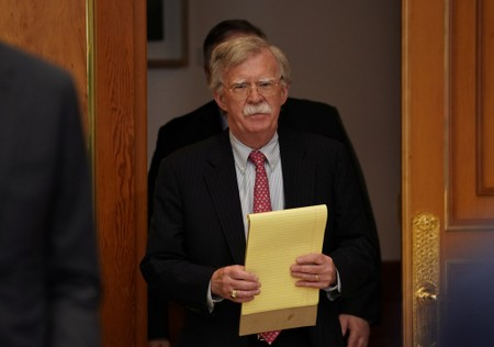 U.S. security adviser Bolton meets South Korean officials, seeks stronger ties