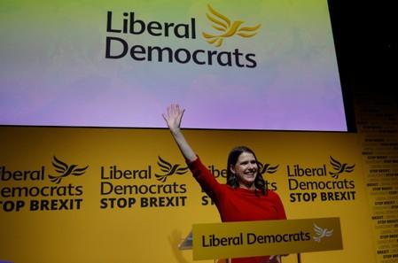 Britains anti-Brexit Liberal Democrats name Jo Swinson as new leader