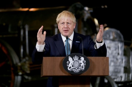 Brexit no matter what, PM Johnson promises as sterling falls