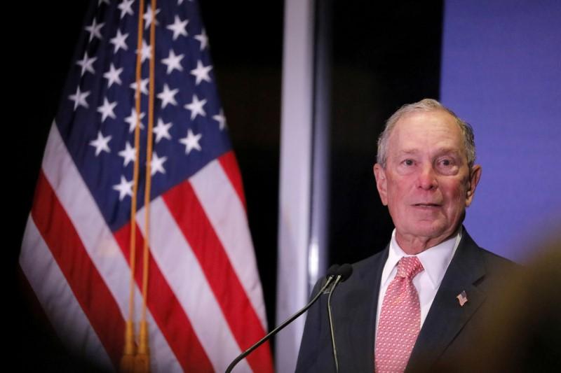 Im spending all my money to get rid of Trump: Michael Bloomberg