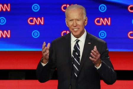 Biden debate gaffe sends viewers in digital circles
