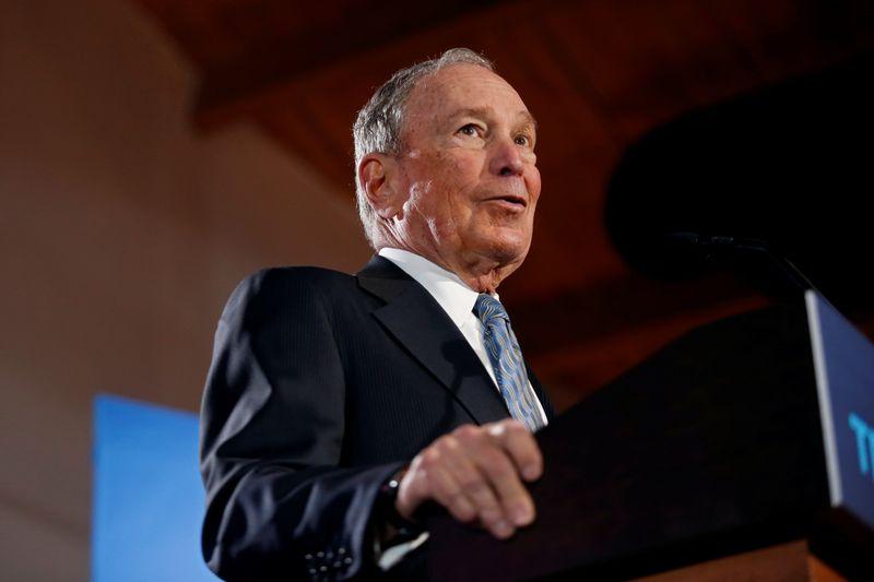 Democratic rivals tell billionaire Bloomberg: Lets debate
