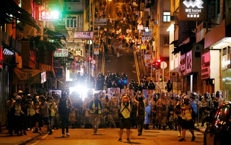 Beijing reiterates support for Hong Kongs Lam, police