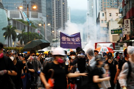 Stop terrorizing Cathay staff, Hong Kong protesters tell airline