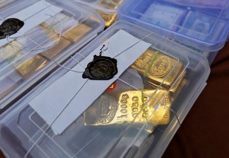 Indias seizures of smuggled gold jumps in June quarter: government official