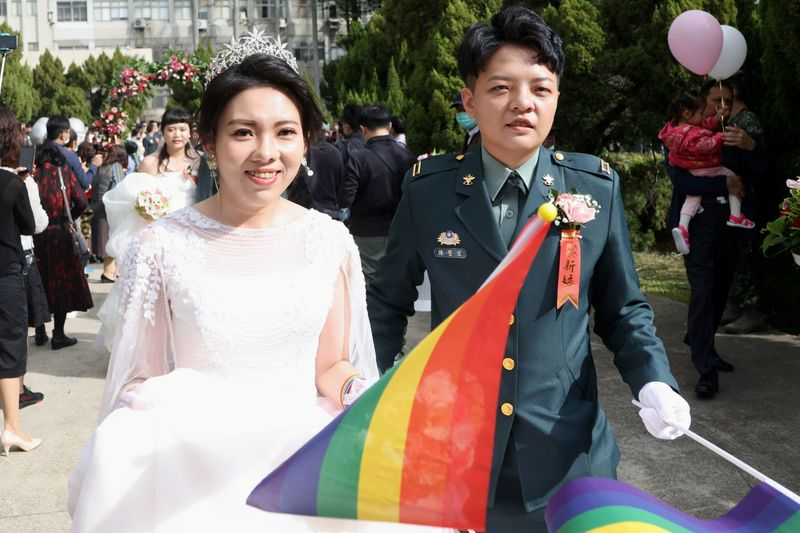 Taiwan celebrates equality, coronavirus success in Asias largest Pride march