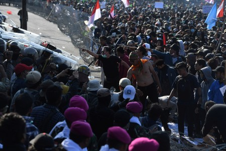 Indonesia president urges police restraint after student protesters deaths