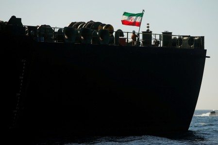 Iranian tanker no longer has Turkey destination: shipping data