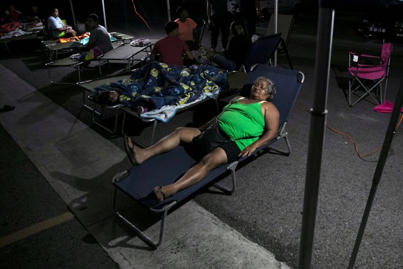 Puerto Rico slowly brings back electricity after powerful earthquake