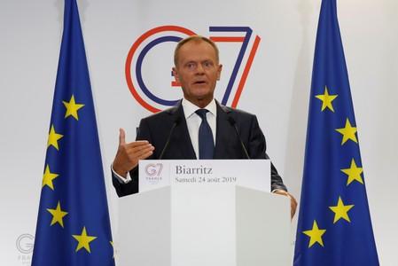 Tusk: Domestic politics could drive Britain out of EU