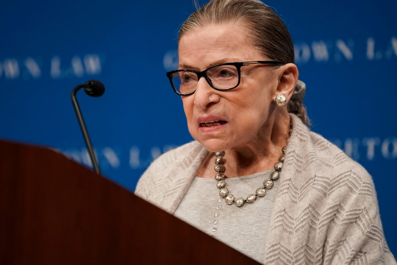U.S. Justice Ginsburg misses oral arguments with illness