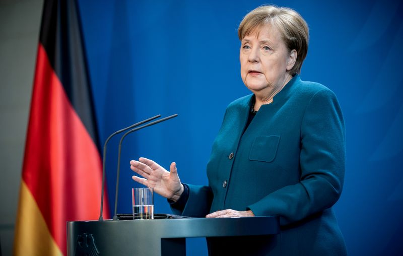Merkel tells Germans to stay home until after Easter to beat virus