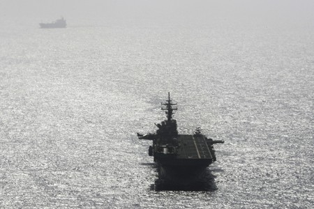 U.S. says Navy ship destroyed Iranian drone in Gulf
