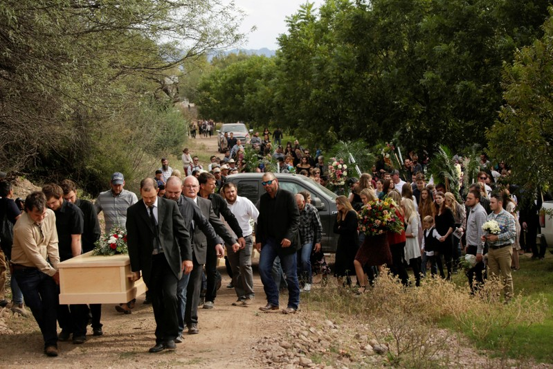 Families come from across U.S. to grieve relatives slain in Mexico