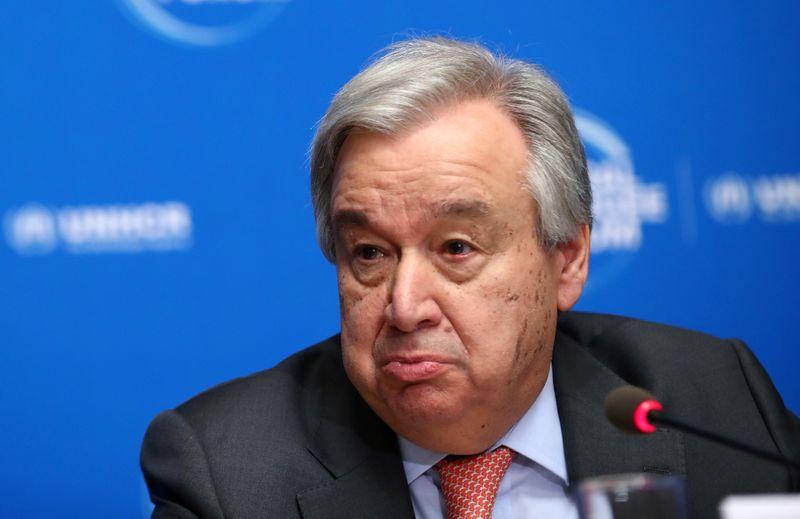 U.N. secretary-general deeply concerned North Korea said it could resume weapons tests