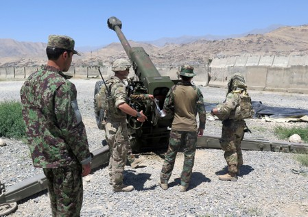 Full U.S. pullout from Afghanistan could ignite total civil war: ex-U.S. envoys