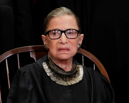 U.S. Justice Ginsburg treated for pancreatic cancer