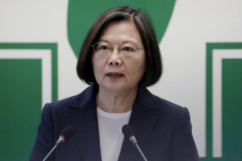 Taiwan president says has no plans to talk to Japans new PM
