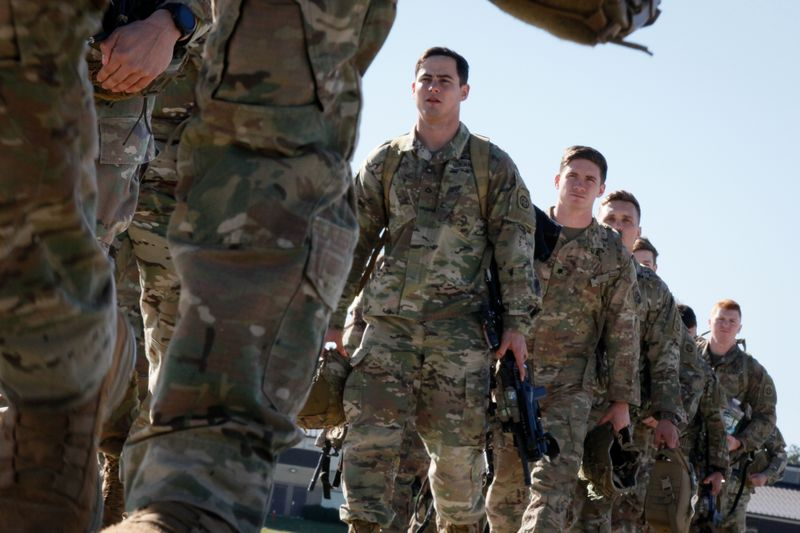 Were going to war, bro: Fort Braggs 82nd Airborne deploys to the Middle East
