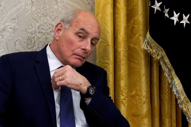 Former chief of staff Kelly rejects Trump North Korea approach as futile: report