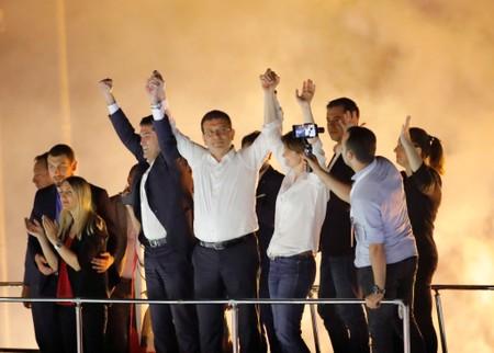 Turkeys opposition strikes blow to Erdogan with Istanbul mayoral win