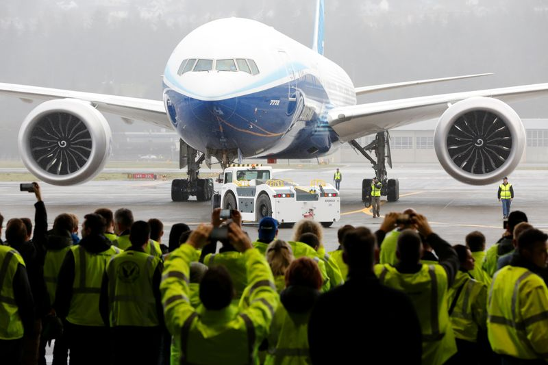 Boeings 777X jetliner successfully completes maiden flight