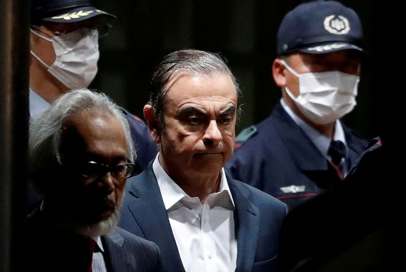 Ghosn says he escaped injustice in Japan; Lebanon calls arrival a private matter