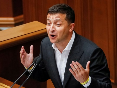 Ukrainian leaders rivals use Trump call to kick him, voters more forgiving