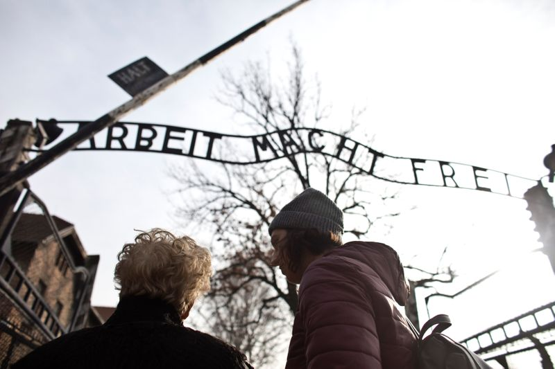 Sorrow and triumph, an Auschwitz survivors journey back to a former hell