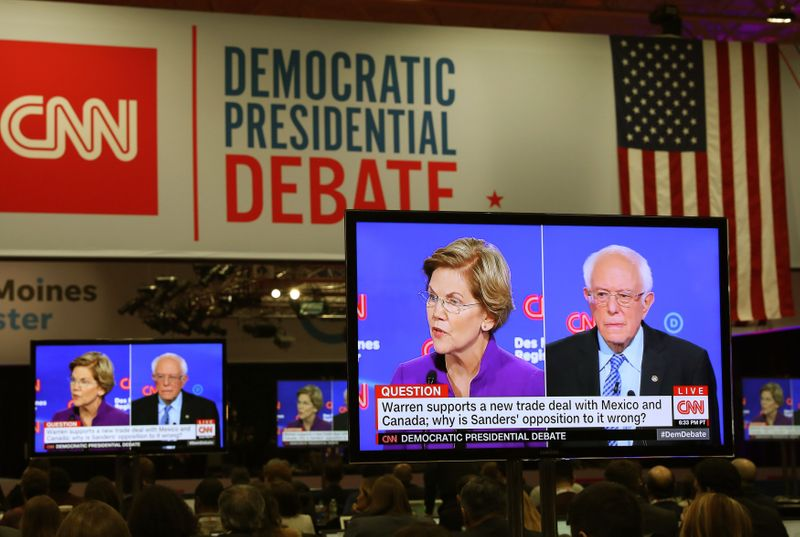 Sanders grabs lead in Iowa race as support for Warren drops: New York Times