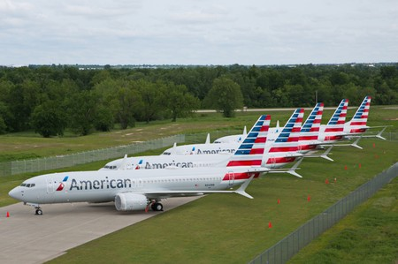 American Airlines raises unit revenue forecast, shares rise