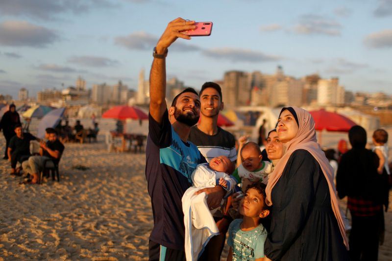 Cut off from world, and virus, Gaza prepares for Eid like nowhere else