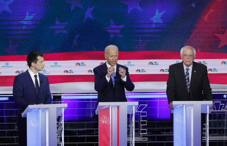 Bidens support from black voters cut in half after debate: Reuters/Ipsos poll