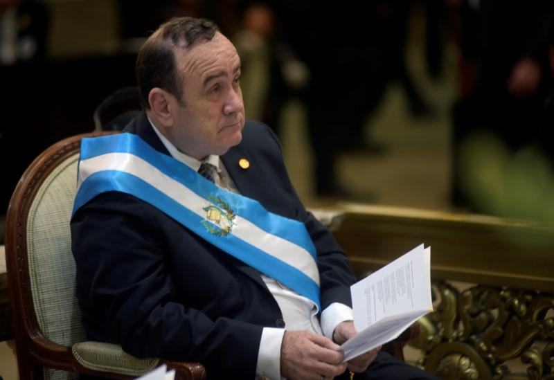Guatemalas new president cuts ties with Venezuela, as promised